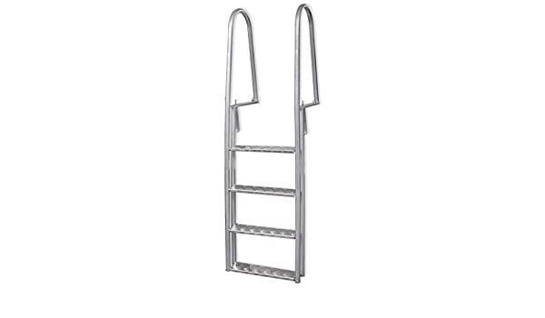ghuanton Escalera para Piscina/Muelle con 4 peldaños Aluminio 170 cmCasa y jardín Piscina y SPA Accesorios para Piscinas y jacuzzis Escaleras y rampas de Piscina: Amazon.es: Hogar