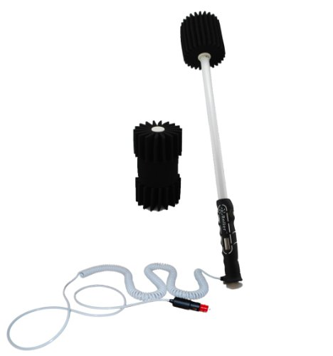 UPC 799665887001, eRoller - Portable electric powered car wash roller brush - Motorized auto wash Sponge scrubber