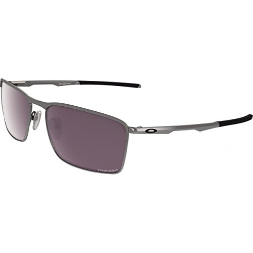 Oakley Men's Conductor 6 Polarized Iridium Rectangular Sunglasses, Lead, 58 - Oakley Conductor 6
