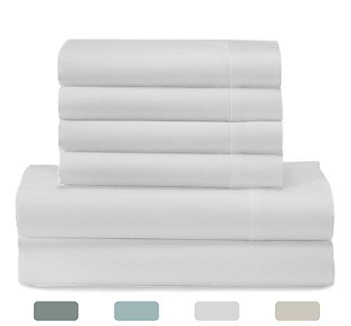 Sonnet Collection 800 Thread Count 6-Piece Cotton Rich Sheet