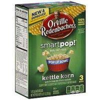 Orville Redenbacher's 94% Fat Free Smart Pop Kettle Korn Microwave Popcorn 8.07 oz - Smart Orville Pop