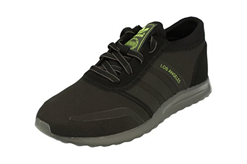adidas Los Angeles, Unisex Adulto Scarpe da Corsa Black Yellow Aq4554