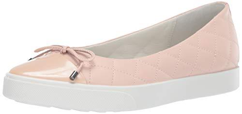 (ECCO Women's Women's Gillian Ballerina Loafer Flat Rose dust, 40 M EU (9-9.5 US))