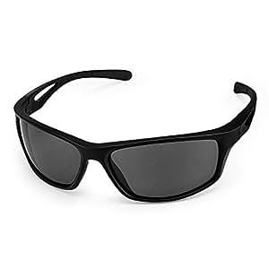 CHEREEKI Gafas de Sol Deportivas, Gafas de Sol Deportivas Polarizadas con Proteccion UV400 & Marco TR90 Irrompible, para Hombre y Mujer, Deportes al Aire Libre, Pesca, Ski, Conducción, Golf