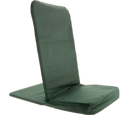 BackJack Portable Floor Chair - Forest Green - - Back Jack Folding Chair