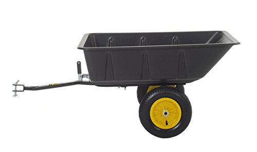 Polar Trailer 9393 LG7 Lawn and Garden Utility Cart - Load Size 10 Cubic Feet Lawn Tractor Wagon