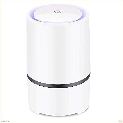 WANG Pequeño purificador de Aire portátil, Puerto USB de Escritorio, ionizador de Aire para Humo de Cigarrillos, alergias, bacterias: Amazon.es: Hogar