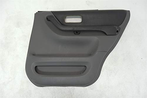 1997 1998 Honda CR-V 2.0L Rear Right Door Panel Trim Liner GRAY (Gray Right Rear Door Panel)