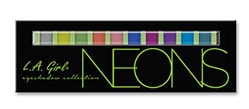 L.A. Girl Beauty Brick Eyeshadow, Neons, 0.42 Ounce]()