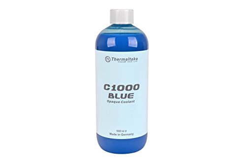 Thermaltake C1000 1000ml Vivid Color Computer Water Cooling System Coolant Cooling CL-W114-OS00BU-A, Blue