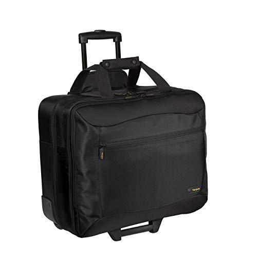 Citygear Notebook Case - Targus CityGear Rolling Travel Case for 17.3-Inch Laptops, Black (TCG717)