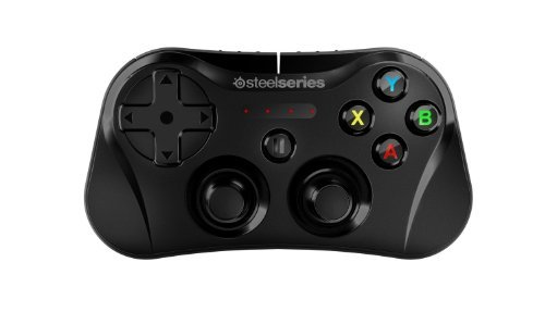 SteelSeries Stratus Wireless Gaming Controller for iPhone, iPad, and iPod Touch - Black (Certified Refurbished)