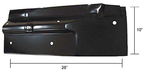 Cab Floor Rear Panel - RH - 67-72 Chevy GMC (Rear Floor Panel)