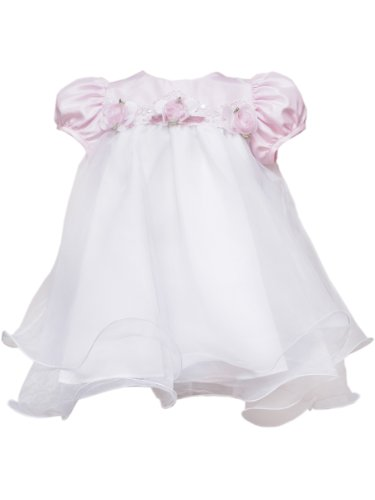 Rare Editions Baby Girls' Wire Hem Dress