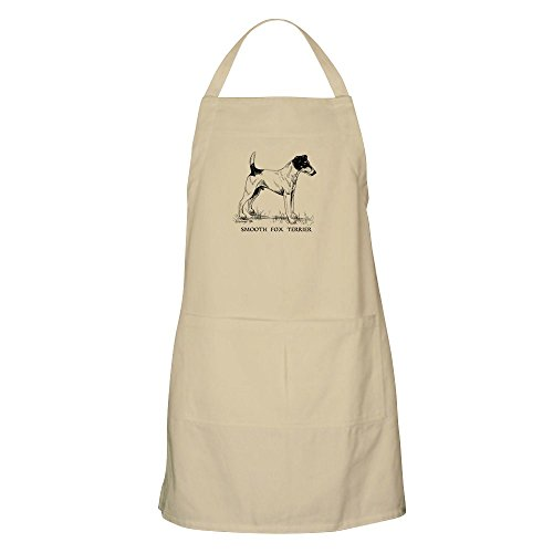 CafePress Smooth Fox Terrier Apron Kitchen Apron with Pockets, Grilling Apron, Baking Apron