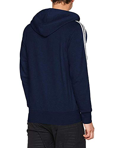 Kap maruni Blanco Short rayas azul Adidas Essentials marino 3 jacke q1WT51z