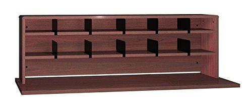 Ironwood 2 Shelves Desk Top Organizer, 56'', Mahogany (DTO56MH) by Ironwood