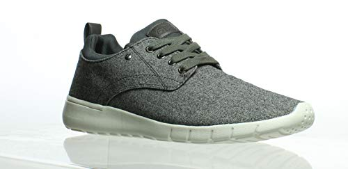GBX Mens Armada Heather Gray Fashion Sneaker Size 11.5