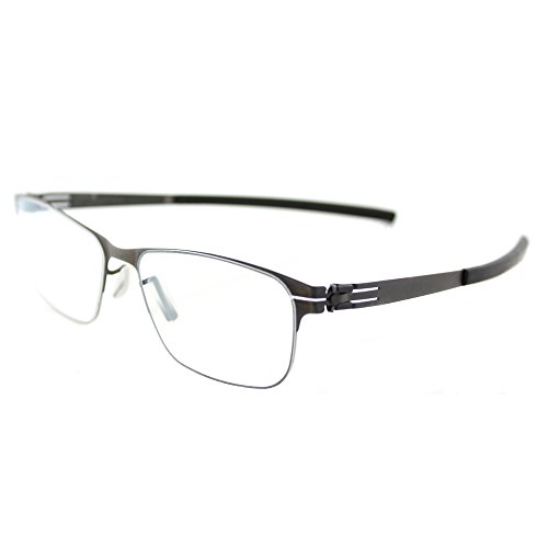 ic! berlin Peggy L. Graphite Metal Rectangle Eyeglasses for sale  Delivered anywhere in USA