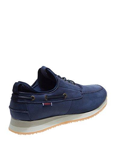 Buena Venta Libre Del Envío Sebago Men's Jude 4 Eye Boat Leather Sneakers Navy Menos De 50 Dólares 9usa3tv
