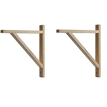 "2 Available !! IKEA Ekby Valter 7/"" Black Shelf Bracket Wood"