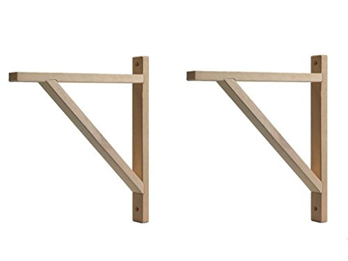 - IKEA - EKBY VALTER Wood Selves Bracket, Depth 11
