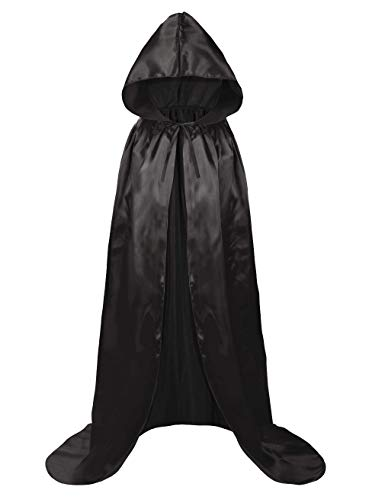 Hamour Kids Halloween Hooded Cloak Cape for Boys Girls Cosplay Costumes,100cm(39