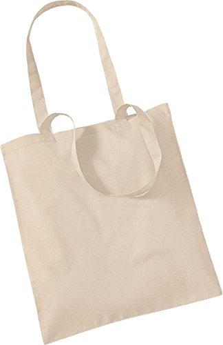 Westford Mill Shopper Handtasche Aufbewahrung Reisetasche Promo Schulter Tasche One Size Braun - Natural