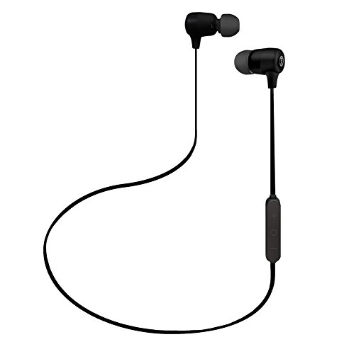 OontZ BudZ 2 Wireless Bluetooth Headphones : HD Sound & Bass, Sports Headset with All Day Comfort, Sweat Proof, Noise Canceling, Hands-Free Calls, by Cambridge SoundWorks, Black