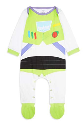 Disney Toy Story Tutine Neonato Buzz Lightyear, Pigiama Intero Bambino, Tutina per Neonati in Puro Cotone, Abbigliamento… 1