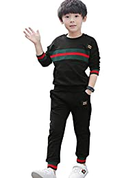 NABER Boys' Fashion 2pc Sports Suit Casual Tracksuits Size 4-10 Yrs