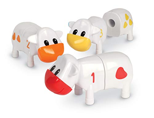 Kindergarten Counting Game - Learning Resources Counting Cows Toy Set, 20 Pieces