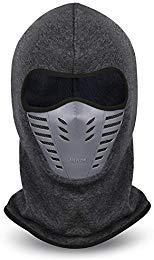 VBIGER Balaclava Ski Mask Windproof Ski Cap For Skiing & Snowboarding & Cycling (Grey)