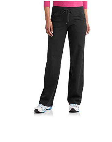 Danskin Now Women's Plus-Size Dri-More Core Relaxed Fit Workout Pant - 3X plus - Black