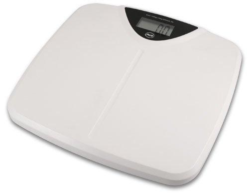 American Weigh Amw-330sw White Bathroom Scale 330 X 0.2 Pound