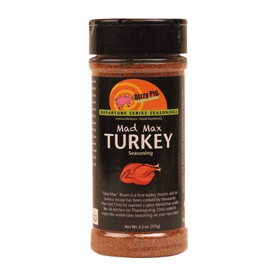 Dizzy Pig BBQ 'Mad Max' Turkey Rub - 175g (6.2 oz)