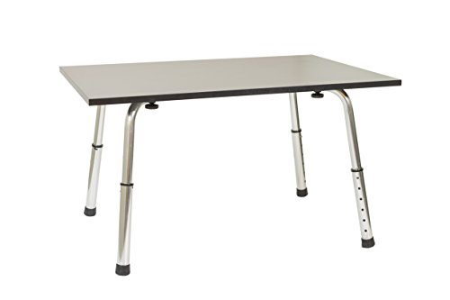 Ergomax Office ABC002 Home Office Desks, Extra Long Portable and Versatile Height Adjustable Workstation and Stand Up Desk Table, Laptop Modern Table, Black by Ergomax Office (Image #5)