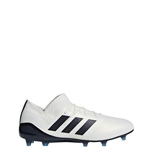 buy online b4b8c 28c77 adidas Nemeziz 18.1 FG Cleat Womens Soccer 10 Off White-Legend Ink-Hi Res  Blue