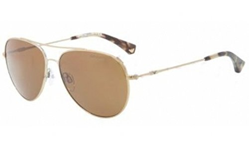 Emporio Armani EA2010 Sunglasses -301373 Pale Gold Brown - 57mm