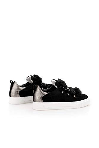 Sneakers And Salsa Black Chain With Fur SxxwqUpT