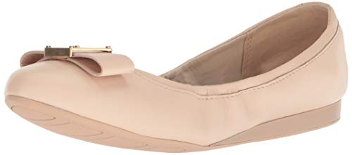 - Cole Haan Women's Emory Bow Ballet Flat, Nude Leather, 7.5 B US
