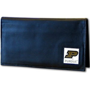 Siskiyou NCAA Purdue Boilermakers Leather Checkbook Cover