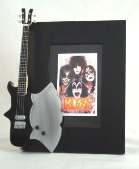 KISS miniatura Marco de la guitarra Imagen AXE: Amazon.es: Hogar