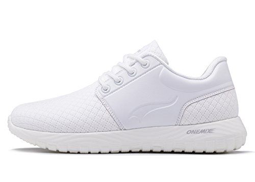 OneMix Unisex Stylish Mesh Upper Lace up Athletic Leisure Sneakers Pearl White wide range of for sale Inexpensive outlet discount sale outlet for cheap outlet where can you find vmKTOG