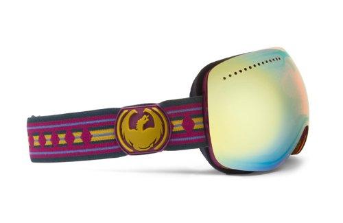 Dragon Alliance APX Native Print Goggles (Multi, Gold Ionized), Outdoor Stuffs