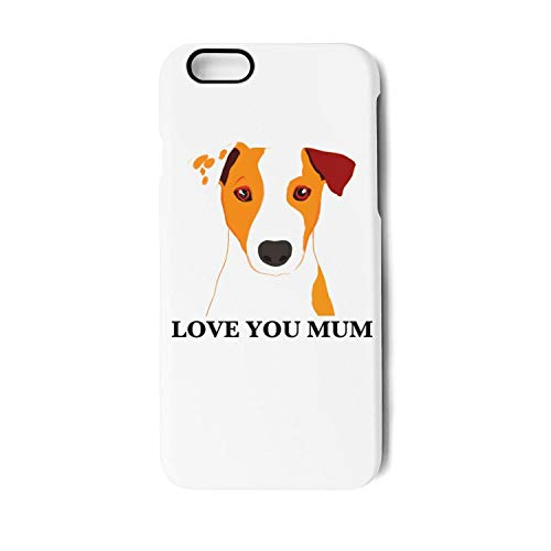 Maltese Russell Jack (Jack Russell Terrier Dog 'Love You Mum' Coffee iPhone 6/6s/6plus/6s Plus/7/7 Plus/8/8 Plus Case Shock Proof/Anti-Finger/Anti-Scratch/Double Coverage/Max Protection iPhone Case)
