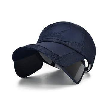 NKSS Sombrero Verano al Aire Libre Protección Solar Visor Solar ...