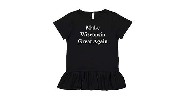 MAGA Trump Republican Toddler//Kids Long Sleeve T-Shirt Make Wisconsin Great Again