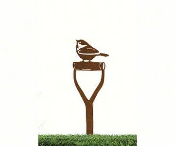 California Home and Garden CHG817 Chickadee on (Chickadee Garden Stone)