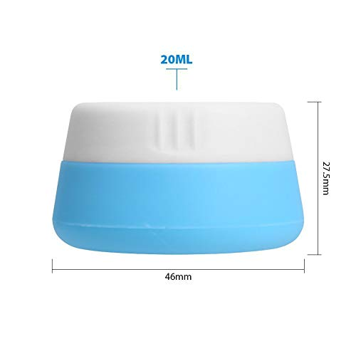 028ea6018fb0 Silicone Cream Jars Travel Accessories Containers with Hard - Import ...